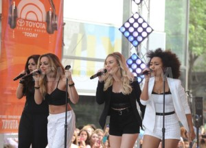 Little Mix on The Today Show. Image from Demotix.com