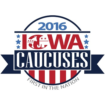 The Iowa Caucuses logo: https://twitter.com/iacaucus2016