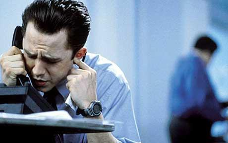 "Giovanni Ribisi, playing Seth Davis in the movie ""Boiler Room"" spends a good chunk of the movie making cold calls."