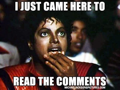 """""""I just came here to read the comments"""" is an internet meme that promotes the absolute worst internet discourse, and Deft Communications argues for its end."""