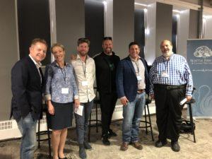 (left to right): Jon Ekstrom, Gin Walker, Thor Gestsson, Oliver Luckett, Derek Figueroa, John Imbergano.